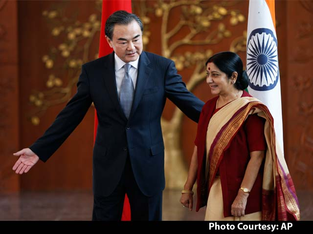 Video : Chinese Foreign Minister Meets Sushma Swaraj