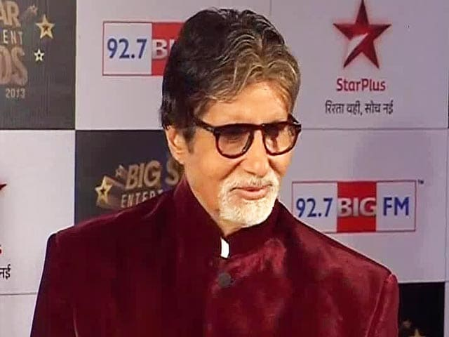 Video : Big B Preps for Small Screen Debut With <i>Yudh</i>