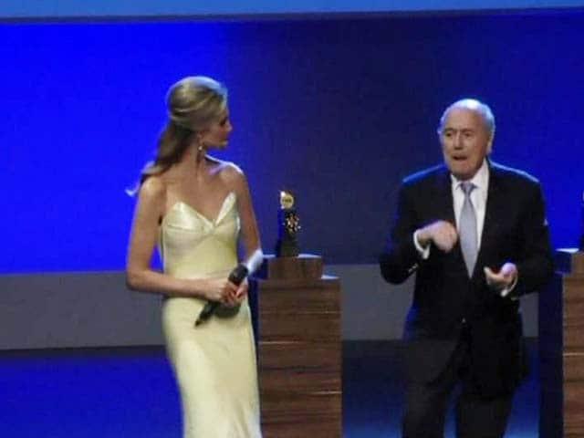 Video : Mum's the Word for Sepp Blatter