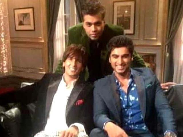 Video : Ranveer Singh, Arjun Kapoor Bromance Ends?