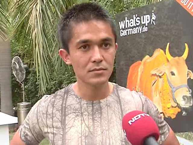 Video : Brazil Favourites to Win World Cup 2014, Says Sunil Chhetri