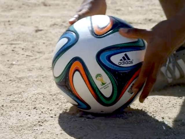 Video : FIFA World Cup: Brazuca, the most colourful football ever