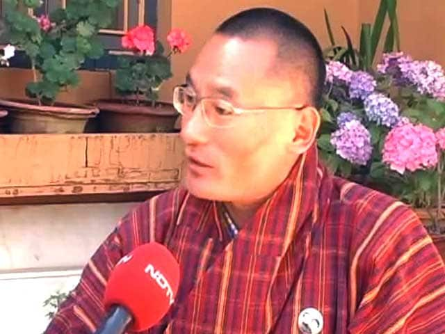 Video : No Question of Chinese Embassy Here: Bhutan PM Tshering Tobgay