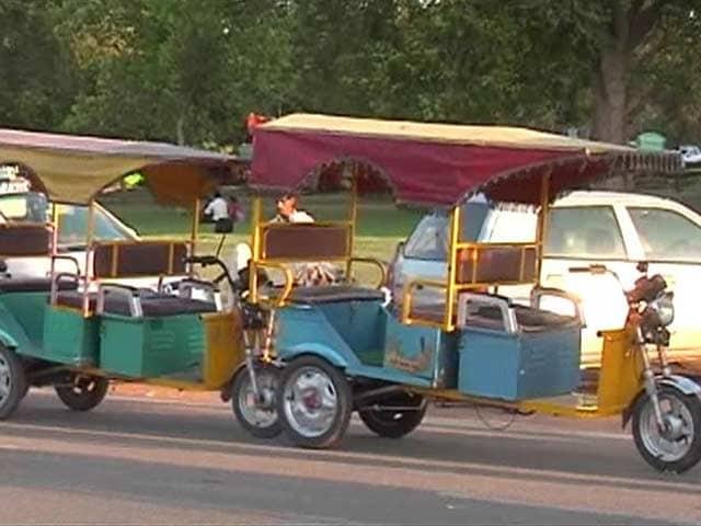 Video : No Ban on E-Rickshaws in Delhi: Transport Minister Nitin Gadkari