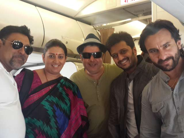 Humshakals Meet the Minister