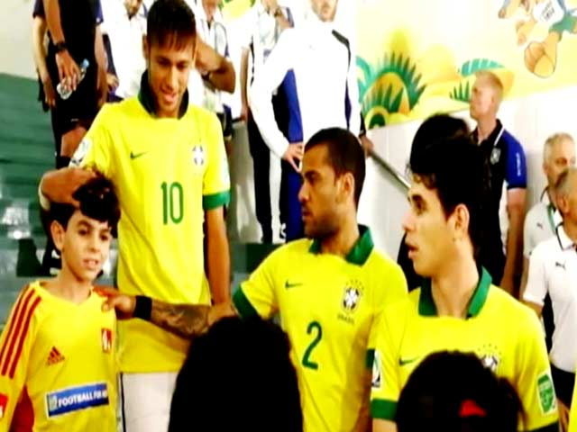 Video : India's 7-Year-Old 'Representative' at FIFA World Cup in Brazil