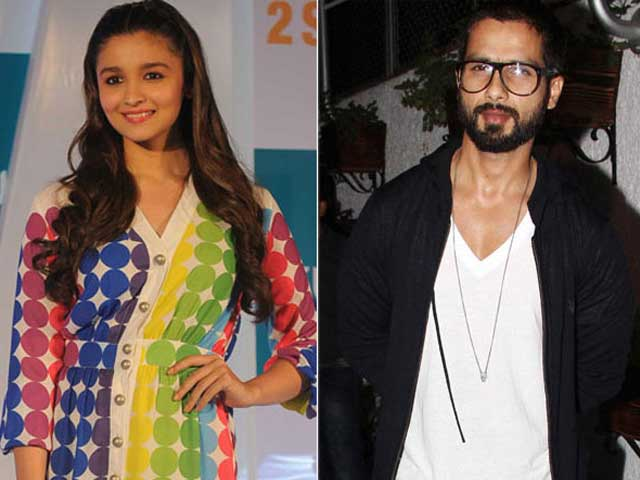 Video : Alia Bhatt, Shahid Kapoor to Work Together