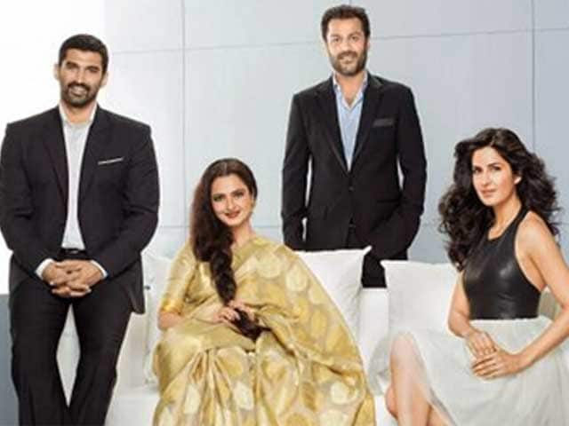 Video : Katrina Kaif and Rekha Working Hard for <i>Fitoor</i>