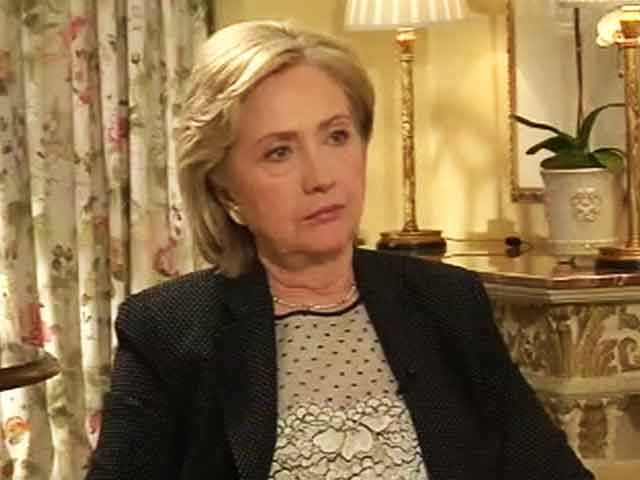 """Video : Modi Visa Issue """"a Thing of the Past"""": Hillary Clinton to NDTV"""
