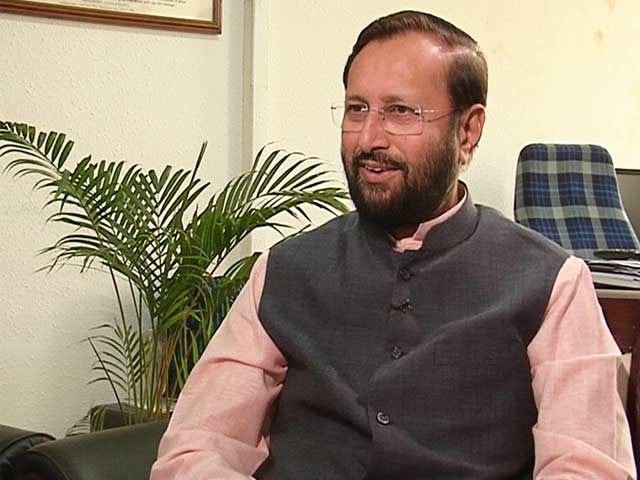 Video : Watch: From Next Week, Ministers to be More Accessible - Prakash Javadekar to NDTV