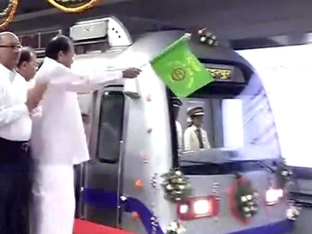 Video : केंद्रीय सचिवालय से मंडी हाउस की दिल्ली मेट्रो की नई लाइन चालू