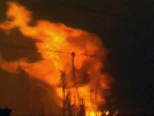 Video : आंध्र प्रदेश में गेल की पाइपलाइन में आग, 15 की मौत