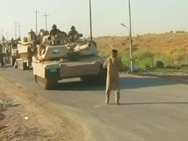 Video : NDTV at Ground Zero in Erbil, Iraq