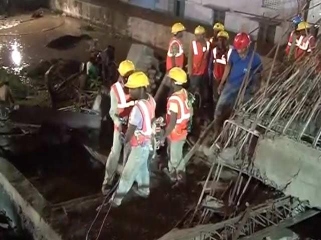 Video : Five Dead, 35 Still Trapped After Building Collapses in Chennai