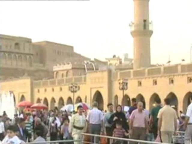 Video : Watch: NDTV at Ground Zero in Erbil, Iraq