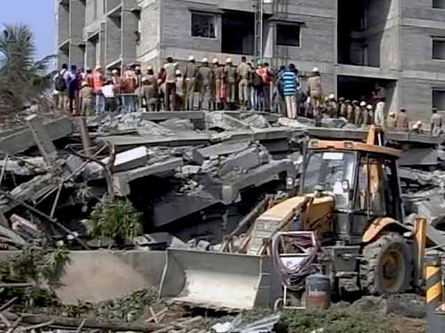 Video : Number of Dead in Chennai Building Collapse Rises to 47