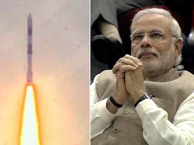 Video : 'We've Done a Lot But <i>Yeh Dil Maange More</i>': PM Modi After PSLV Launch
