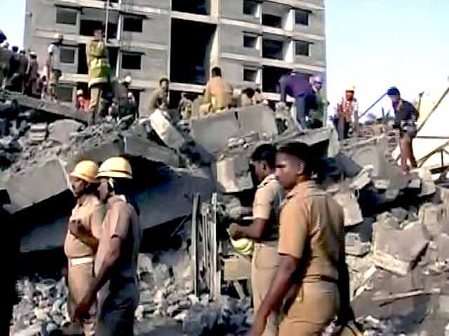 Video : Buried For 60 Hours: 3 More Rescued From Chennai Building Collapse Site