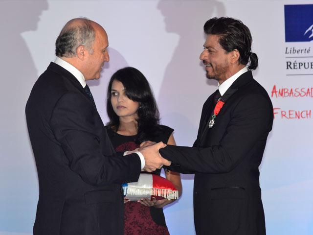 Shah Rukh Khan Receives Top French Honour