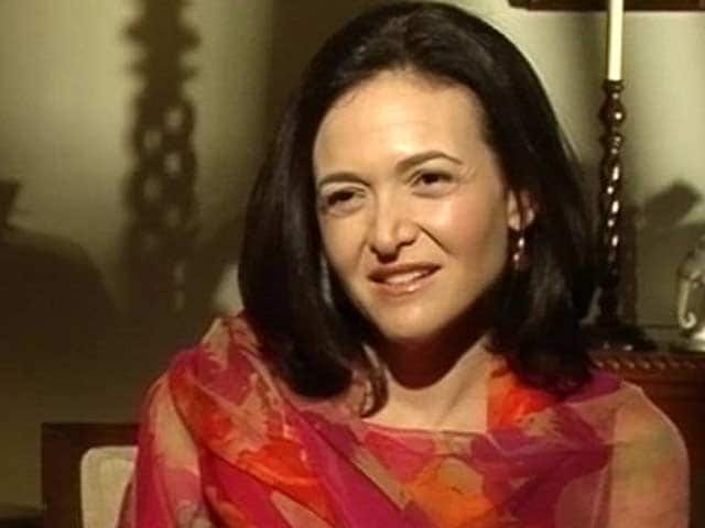 Video : Exclusive: Cannot Control Emotions of Users, Facebook COO Sheryl Sandberg Tells NDTV