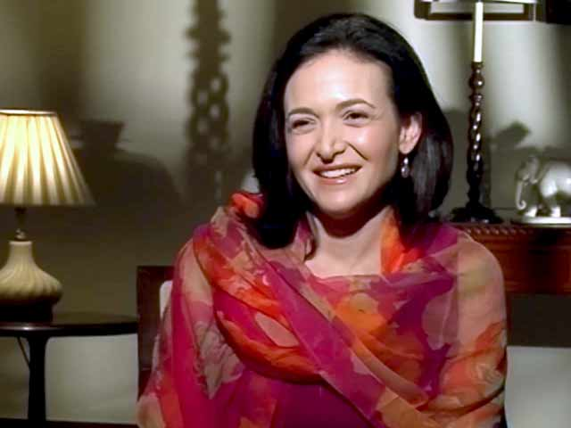 Video : Sheryl Sandberg in India