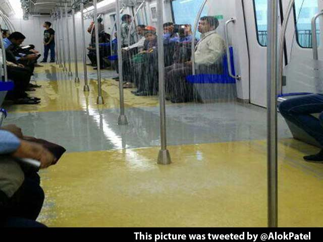 Video : It Rains in Mumbai, Pours in Metro, Goes Viral on Twitter