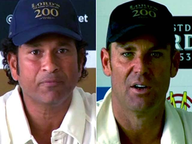 Video : Sachin's Willow vs Warne's Spin Once Again