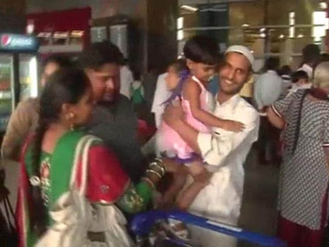 Video : Another 200 Indian Nationals Return From Iraq