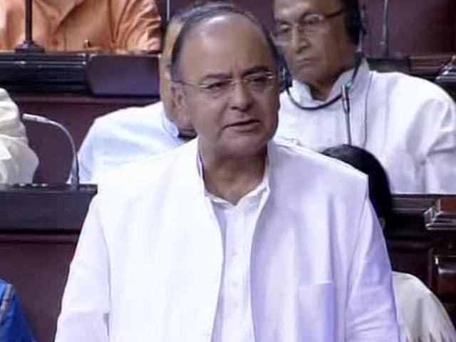 Video : Congress Worsened Matters, Wants to Pass on Blame: Arun Jaitley in Rajya Sabha