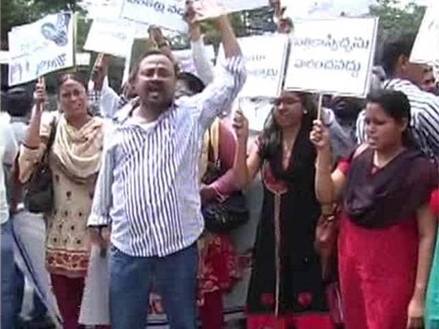 Video : KCR 'Offended' by Anti-Telangana Content, Two Channels Blacked Out