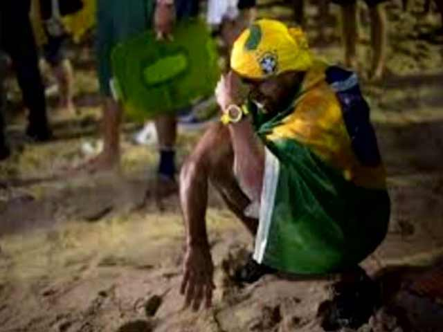 Video : Twitter Explodes With Jokes After Brazil's World Cup Exit