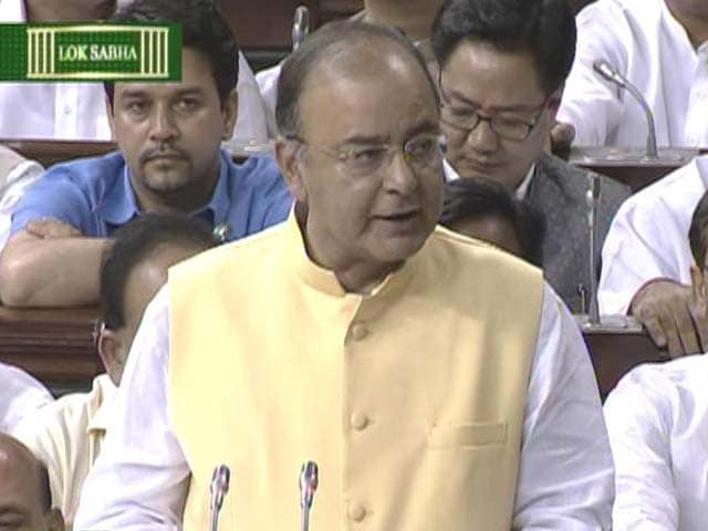 Video : Budget 2014: Arun Jaitley Targets Fiscal Consolidation; Announces Income Tax Sops