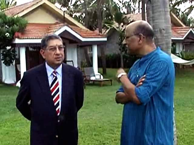 Video : Watch: Walk The Talk with N Srinivasan (Part 2)