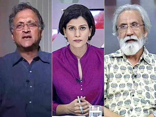 Video : Watch: Row Over Hindutva Historian