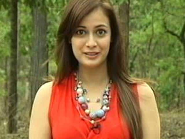 Video : Actress Dia Mirza Joins the Save Our Tigers Campaign