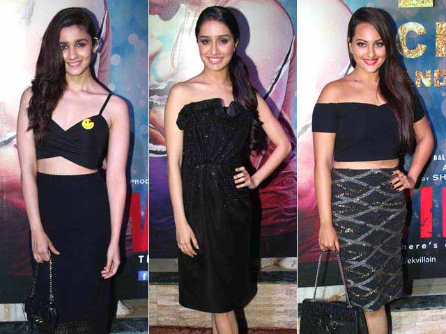 Fashion Face-Off at Ek Villain Success Bash