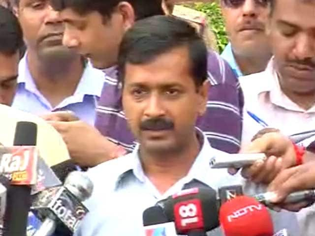 Video : In Race For Power in Delhi, Kejriwal Asks To Meet Lt-Governor