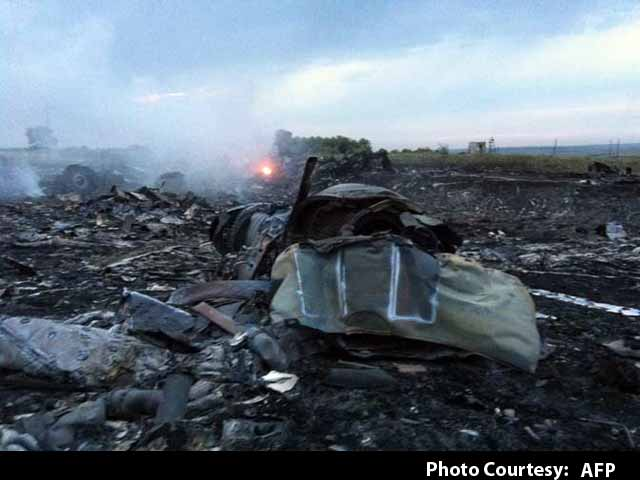 Video : Malaysian Airliner Shot Down in Ukraine