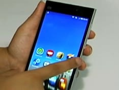New Company, New Phone Debuts in India