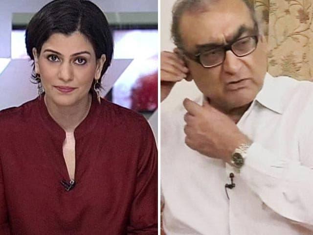 Video : Asked To Explain Sensational Allegation, Justice Katju Walks Out of NDTV Interview