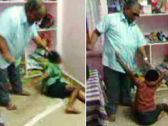 Videos : आंध्र प्रदेश में तीन नेत्रहीन बच्चों की बेहरमी से पिटाई