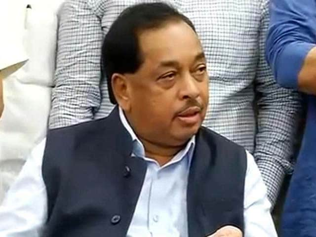Video : Maharashtra Industries Minister Narayan Rane Quits Government