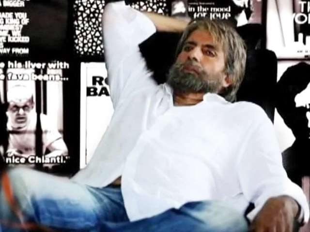 Video : Amitabh Bachchan Reveals <i>Shamitabh</i> Look