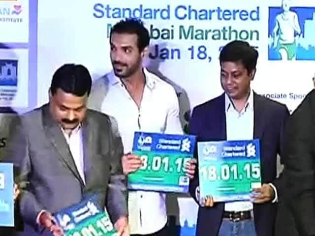 Video : मुंबई मैराथॉन रेस की तैयारी शुरू