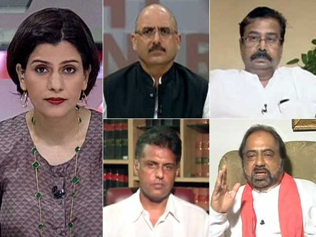 Video : Watch: Force-Feeding Controversy - Should Sena MPs be Suspended?