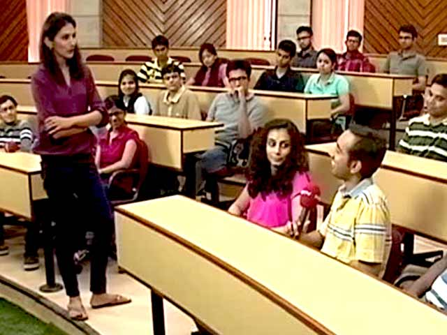 Video : The Making of Management Students