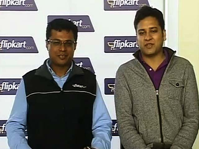 Video : Watch: 'Our Ambition to Join $100 Bn Club' - Flipkart Co-Founders