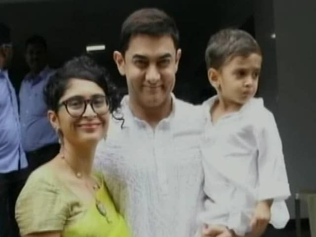 Aamir Skips Salman's Party To Be With Family