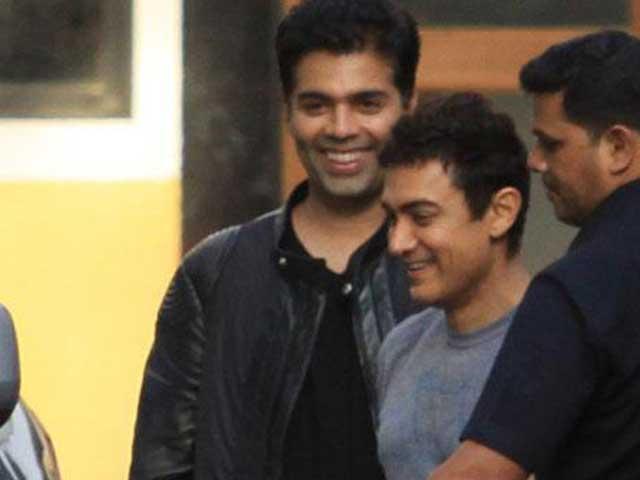 Karan Johar Signs Aamir Khan For Rs 150 Crore?