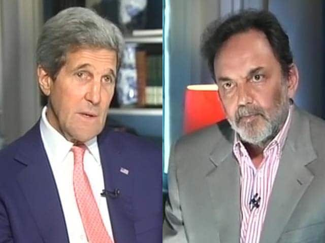 Video : Watch: Different Government Turned Down Modi's Visa, We Will Welcome Him - Kerry to NDTV